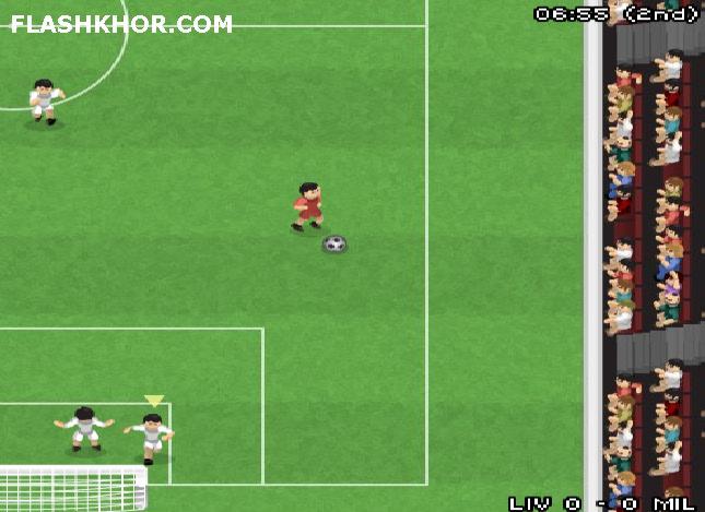 بازی آنلاین فوتبال قهرمانان 2007 - ورزشی فلش