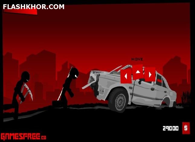 بازی آنلاین نینجای سیاه پوش 3 - شمشیر زنی اکشن فلش