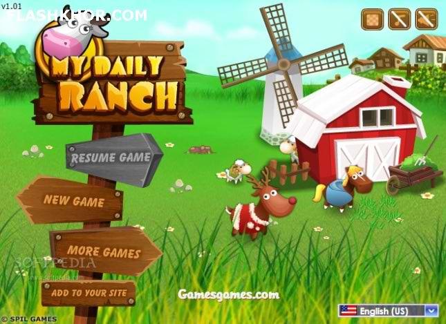 بازی آنلاین مزرعه داری مزرعه زیبای من - دخترانه فلش