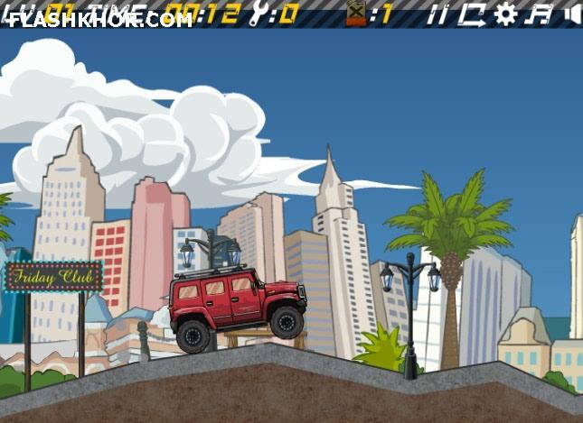 بازی آنلاین هامر لاس وگاس - ماشین سواری فلش