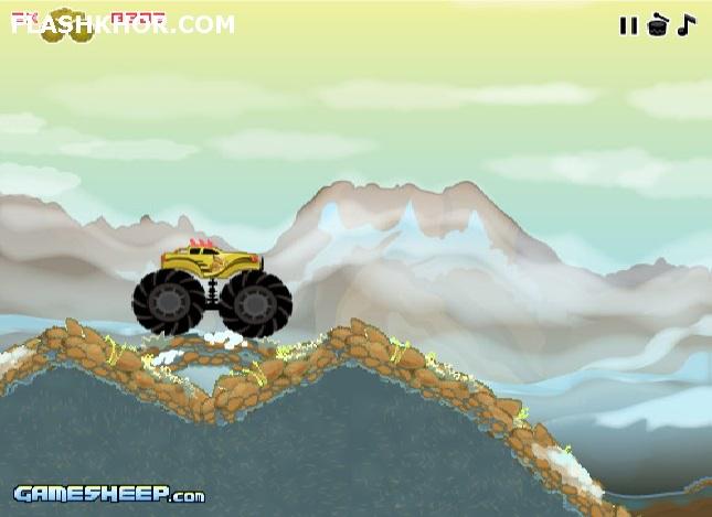 بازی آنلاین ماشین سواری کامیون های افراطی 3 - ورزشی فلش