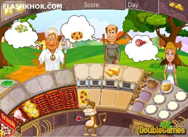 بازی آنلاین ماشین زمان 2: آشپزی قرون وسطایی - دخترانه فلش