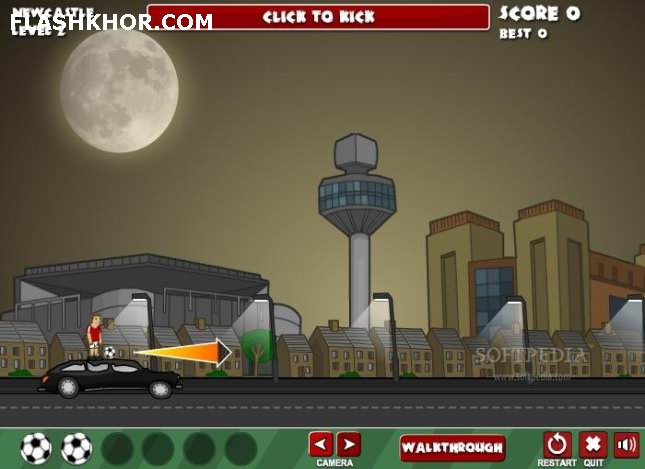 بازی آنلاین روز مسابقه فوتبال مرگبار - زامبی ورزشی فلش