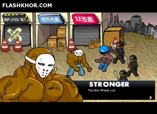 بازی آنلاین فلاشر دیوانه 3 - اکشن فلش