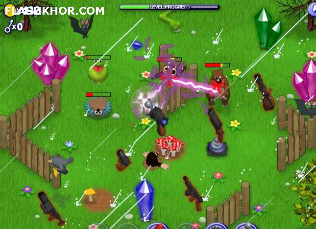 بازی آنلاین جنون قارچ 3 - اکشن فلش