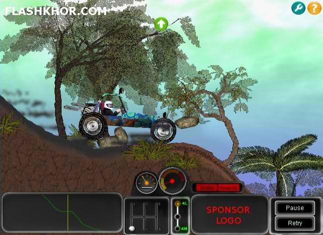 بازی آنلاین ماشین سواری گرد و خاک - ورزشی فلش