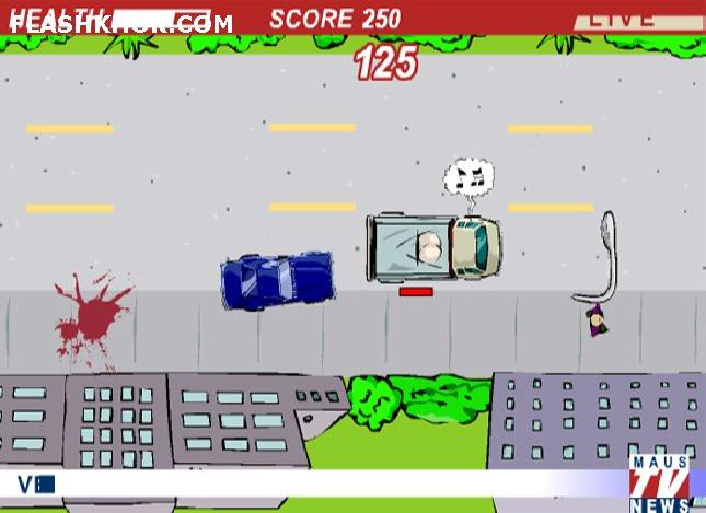 بازی آنلاین دوشنبه دیوانه - ماشین سواری اکشن فلش