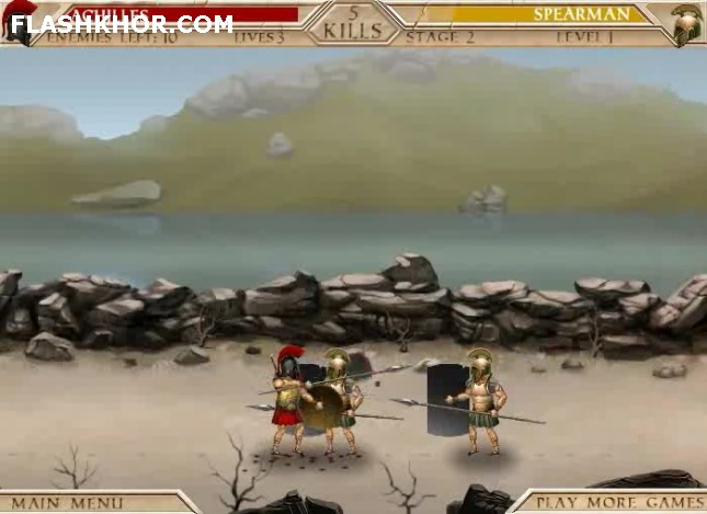 بازی آنلاین آشیل 2: مبدا یک افسانه - شمشیری اکشن فلش