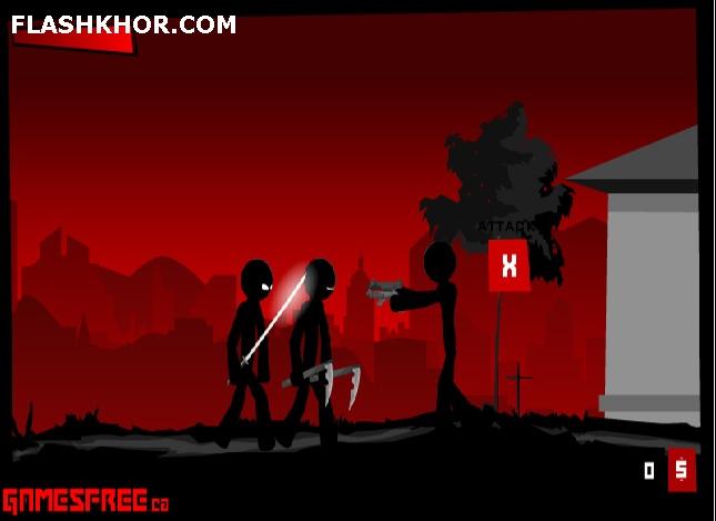 بازی آنلاین نینجا سیاه پوش 3 توسعه  فلش