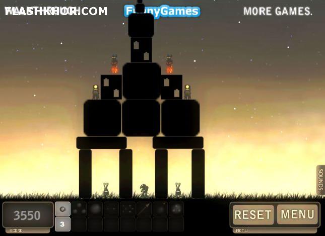 بازی آنلاین بازی آنلاین توپخانه 2 - اکشن فیزیک فلش