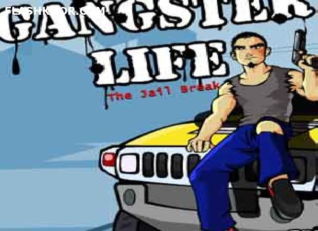 بازی آنلاین زندگی گانگستر - اکشن فلش