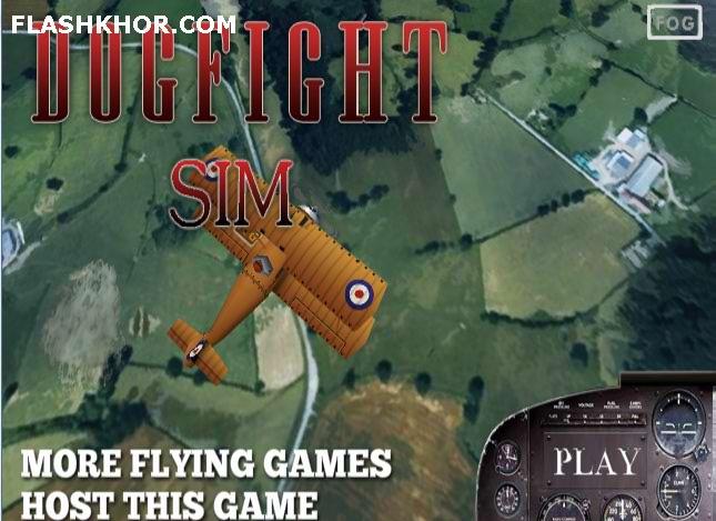 بازی آنلاین هواپیمایی شبیه ساز نبرد هوایی - اکشن فلش