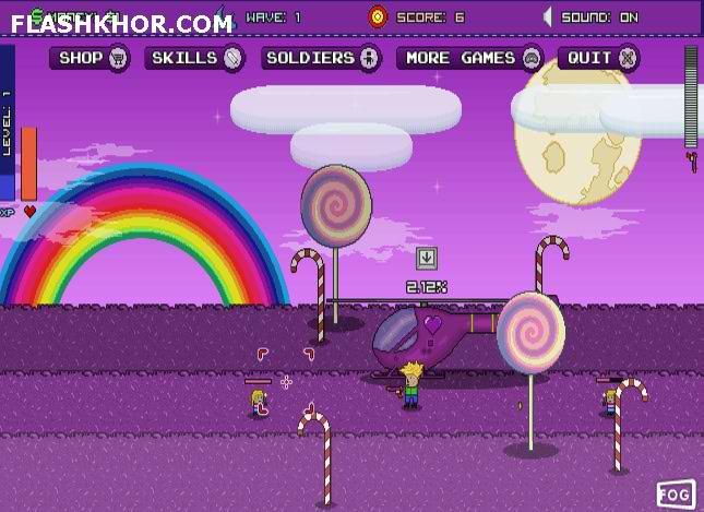 بازی آنلاین نابودی پری - تیر اندازی فلش