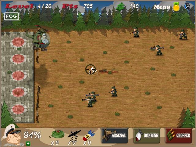 بازی آنلاین جنگ دیوانه وار - اکشن فلش