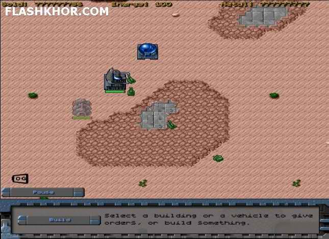 بازی آنلاین استراتژیک فرمانده ماه فلش