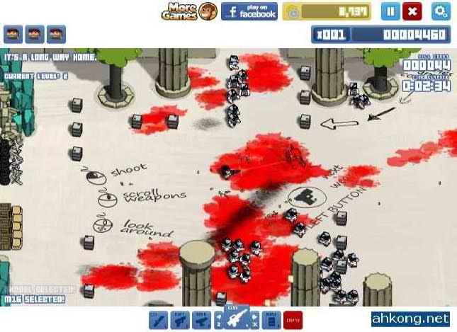 بازی آنلاین باکس هد: کابوس - اکشن فلش