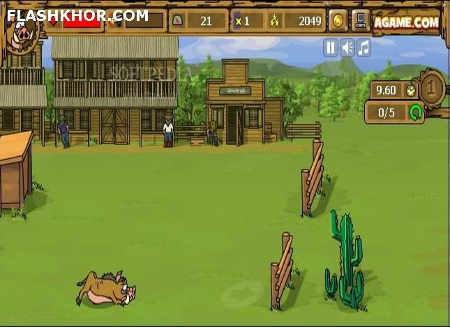 بازی آنلاین مسابقه کابان - ورزشی فلش