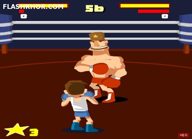 بازی آنلاین بوکس مبارزه در رینگ - بوکس ورزشی فلش