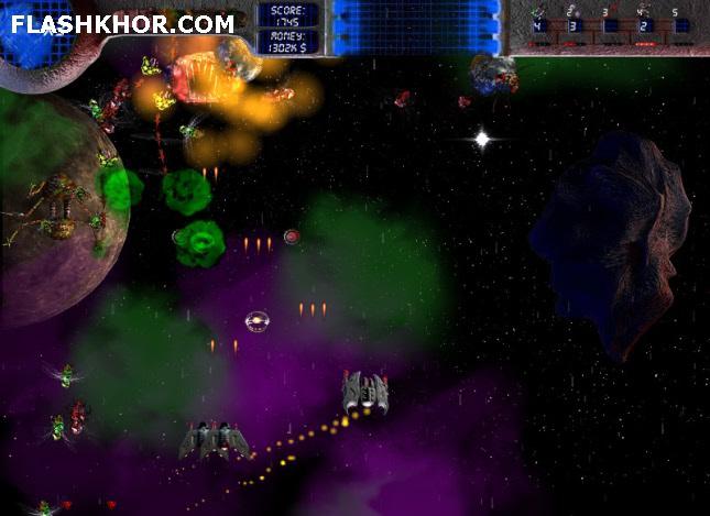بازی آنلاین حمله به کهکشان فصل 2 - اکشن فلش