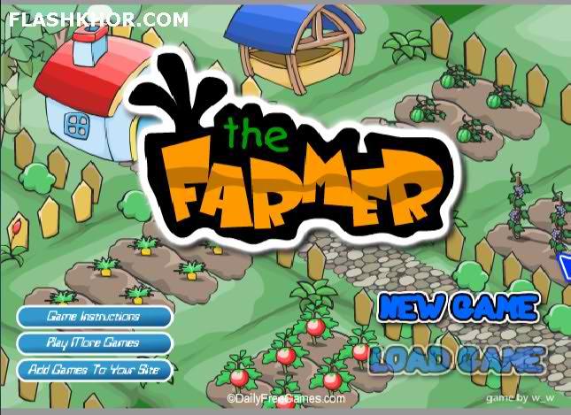 بازی آنلاین مزرعه دار - مزرعه داری دخترانه فلش