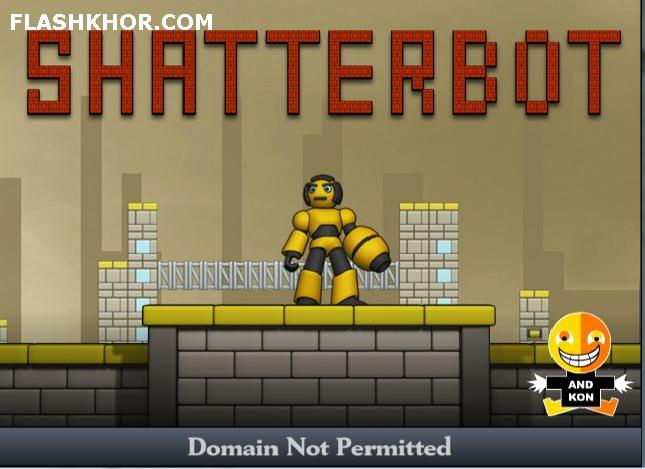 بازی آنلاین ربات شکست ناپذیر - اکشن فلش