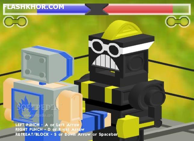 بازی آنلاین پلاستیک جنگجو - بوکس اکشن فلش