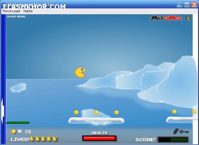 بازی آنلاین پکمن پلتفرم 2 - ادونچر PacMan فلش