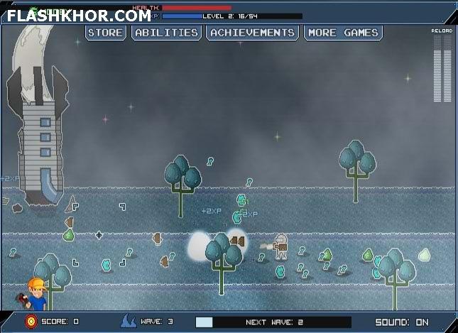 بازی آنلاین سیاره بلیرپ - تیر انداز فلش