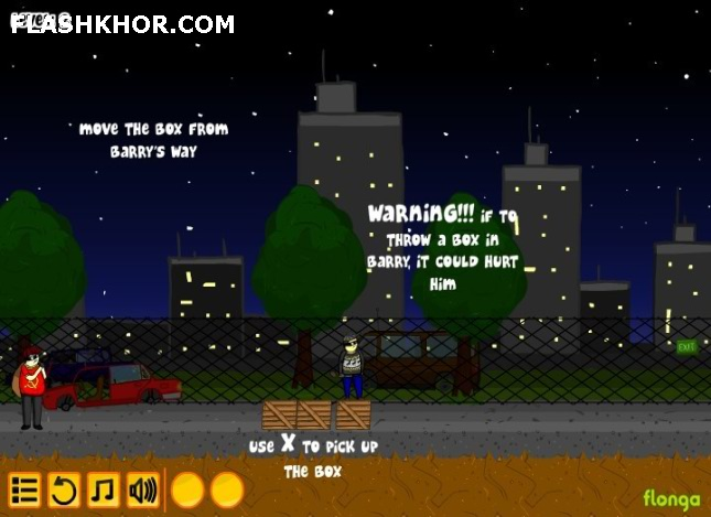 بازی آنلاین دزدان شبگرد - فکری فلش