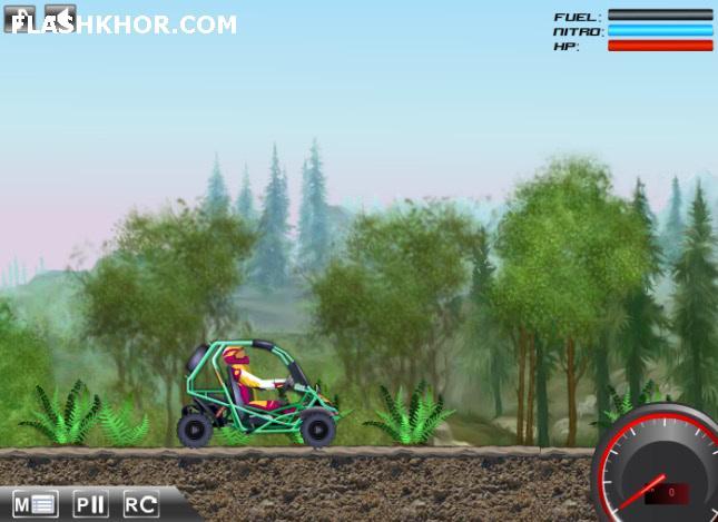 بازی آنلاین ماشین سواری باگی سریع - ورزشی فلش