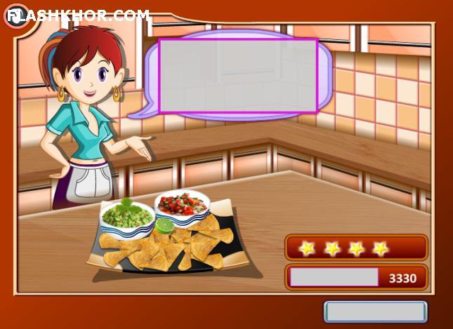 بازی آنلاین آشپزی ناچز و دیپس - دخترانه فلش