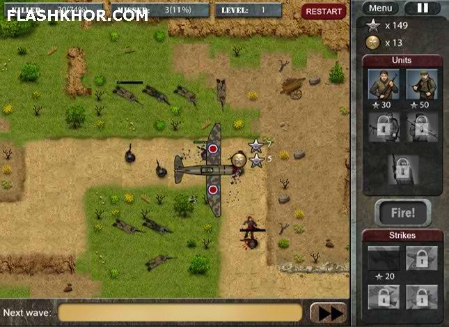 بازی آنلاین کمین - جنگی استراتژیک فلش