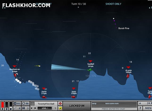 بازی آنلاین جنگ تانک ها 2 - دونفره جنگی فلش