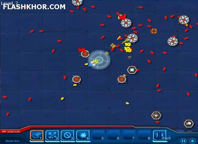 بازی آنلاین قهرمان صلح - اکش فلش