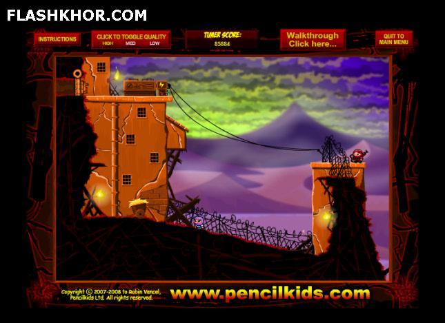 بازی آنلاین نینجا کامی 3 - اکشن ادونچر فلش