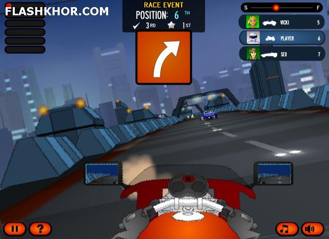 بازی آنلاین مسابقات فرمول 1 کوستر سه - فراری فلش
