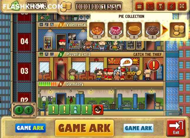 بازی آنلاین خانم برج ساز - استراتژیک فلش