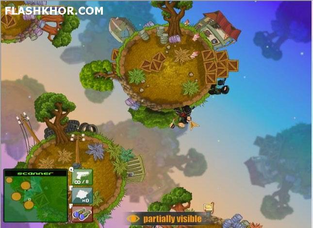 بازی آنلاین سرباز نفوذی - مخفی کاری فلش