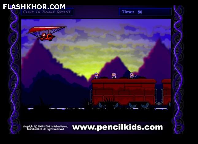 بازی آنلاین نینجا کامی 2 - اکشن ادونچر فلش