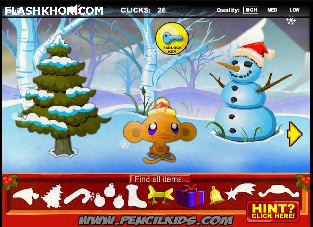 affen spiel sch ne weihnachten online spiele spile affe 1001. Black Bedroom Furniture Sets. Home Design Ideas