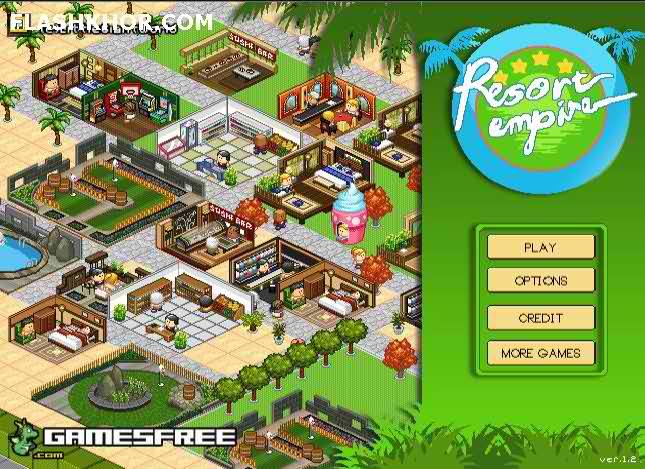 بازی آنلاین استراتژیک امپراطور شهر فلش