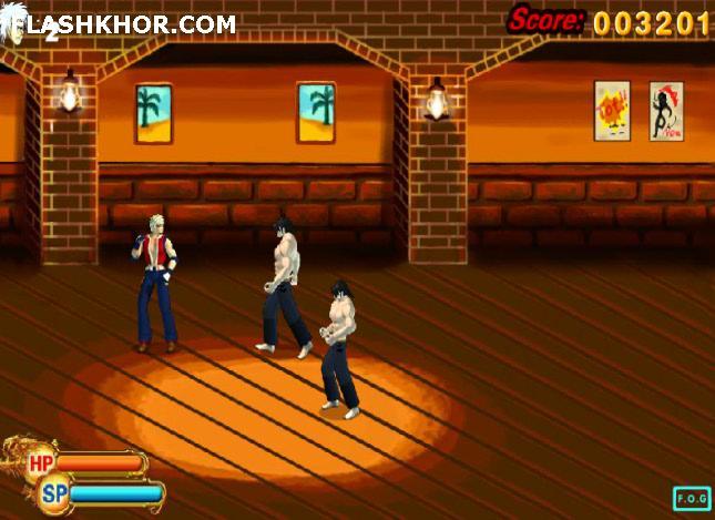 بازی آنلاین شورش در شهر - اکشن رزمی فلش