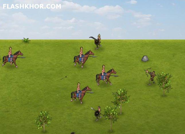بازی آنلاین اسکندر - استراتژی جنگی فلش