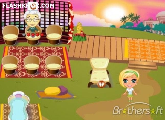 بازی آنلاین مدیریتی آرایش و استراحت 3 - دخترانه فلش