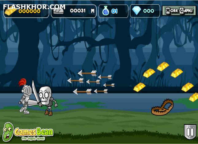 بازی آنلاین یورش شوالیه - ماجرایی فلش