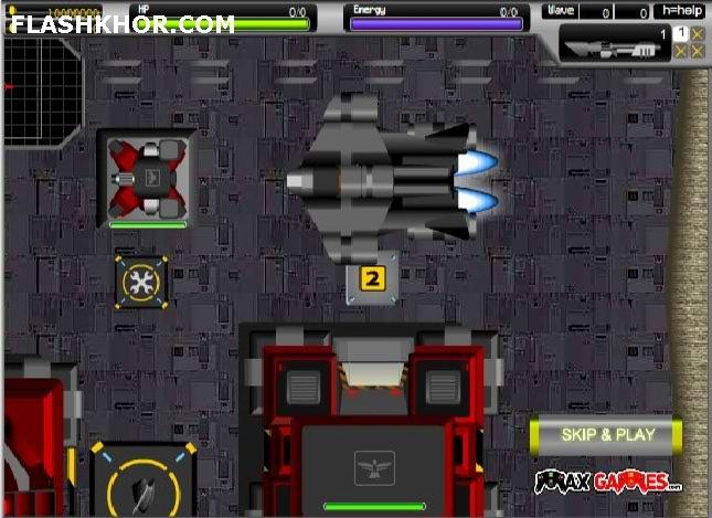 بازی آنلاین زیر دریایی فضایی فوق العاده - اکشن فلش
