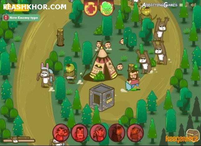 بازی آنلاین استراتژیک بچه های بیلی مکین - جنگی رزمی فلش