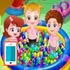 بازی بچه داری هیزل کوچولو در مهد کودک - دخترانه