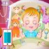 بازی بچه داری هیزل کوچولو و وقت خواب - دخترانه