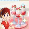 بازی آشپزی سارا پافی توت فرنگی - دخترانه